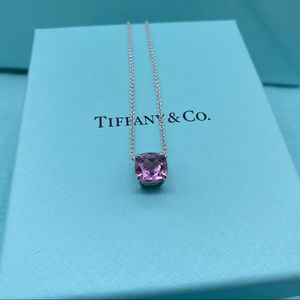 Tiffany & Co. amethyst sparkler necklace